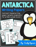 Antarctica Writing Papers (A Continent Study!)
