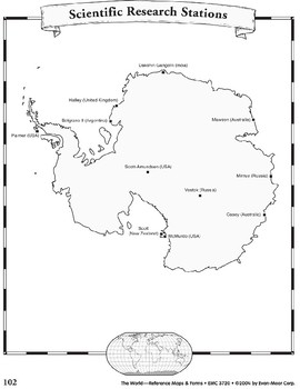 Antarctica and the Arctic: Maps & Forms