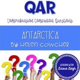 Antarctica by Helen Cowcher QAR Comprehension Questions wi