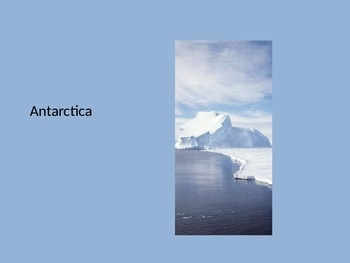 Antarctica ppt (with a penguin focus)