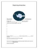 Antarctica student notes accompany Power Point