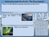 Antartica And The Arctic