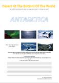 Antartica - Desert At The Bottom Of The World