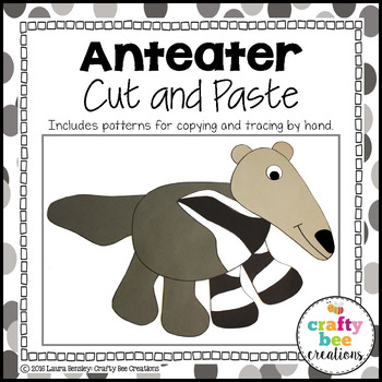 Anteater Cut and Paste