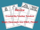 Antebellum Social Classes Foldable