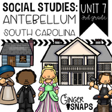 Antebellum South Carolina {Unit 7}