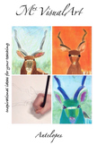 Antelopes - art lesson