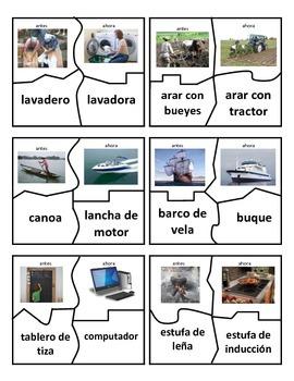 Antes & Ahora- Centro - Spanish