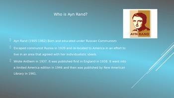 Anthem - A Look at Ayn Rand's Dystopian Novella