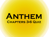 Anthem Chapter 3-6 Reading Quiz