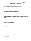 Anthem Chapters 1-3 Reading Quiz