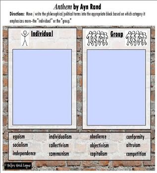 Anthem Individual vs. Group Warm-Up Promethean Activ Inspire Flipchart & PDF