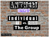 Anthem Individual vs. Group Warm-Up Promethean Activ Inspi