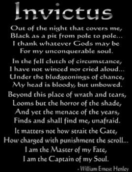 Anthem Poem Invictus