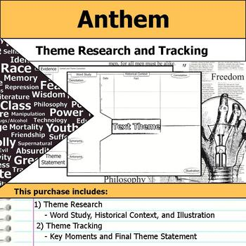 Anthem Theme Tracking Notes Etymology Context Research