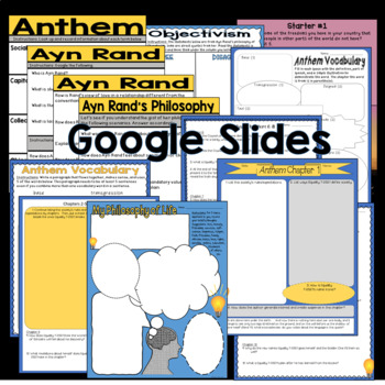 Anthem by Ayn Rand Complete Unit