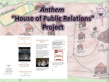 """Anthem (by Ayn Rand) """"House of Public Relations"""" Project"""