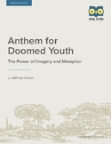 Anthem for Doomed Youth Literary Devices Lesson Plan