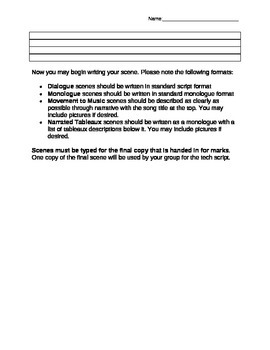 Anthology Script Writing Guide
