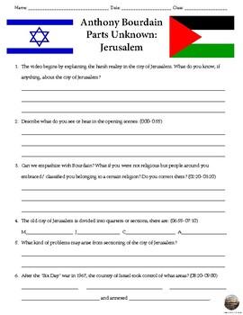 Anthony Bourdain Parts Unknown: Jerusalem
