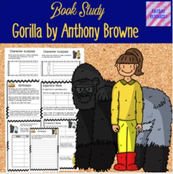 Anthony Browne Book Study Bundle