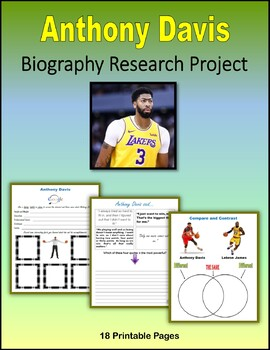 Anthony Davis - Biography Research Project