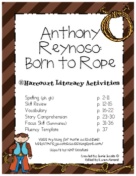 Anthony Reynoso: Born to Rope (Harcourt)