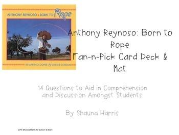 Anthony Reynoso Fan & Pick Cards (Trophies 2nd grade)
