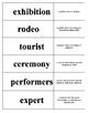 Anthony Reynoso HM Grade 3 Vocabulary Activity