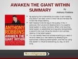 Anthony Robbins - Awaken the Giant Within - Summary