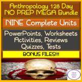 Anthropology 128 Day NO PREP MEGA Bundle: PowerPoints, Act