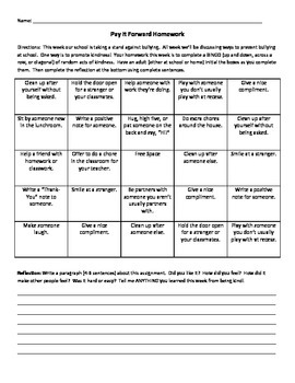 Anti-Bully Bingo