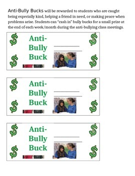 Anti-Bully Bucks