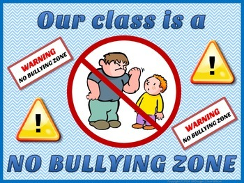 Bullying - Prevention Posters