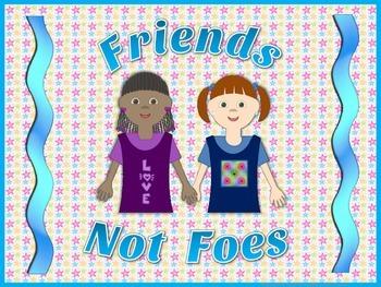 Bullying Prevention Poster - Anti-bullying Posters for behavior management