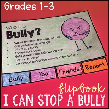 Anti Bullying Activities - Flipbook and Bookmarks