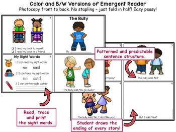 Bullying Awareness: Activities and Readers K-3 Low Prep