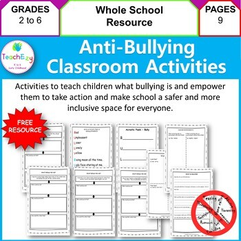Anti-Bullying Activities for the Classroom