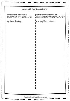 Anti-Bullying Activities for the Classroom FREE