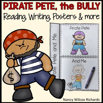 Anti-Bullying Activities with Posters, Social Story, Reading and Writing