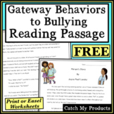 Anti Bullying Activity : Story About Gateway Behaviors