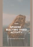 Anti Bullying Activity (con Subjuntivo-Spanish)