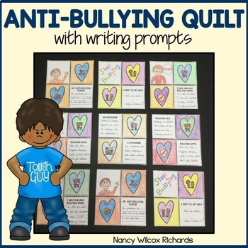 Anti-Bullying Activities with Writing Prompts and Art