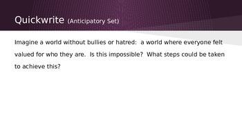 Anti-Bullying Argumentative Writing Unit