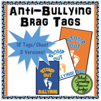 Anti-Bullying Brag Tags