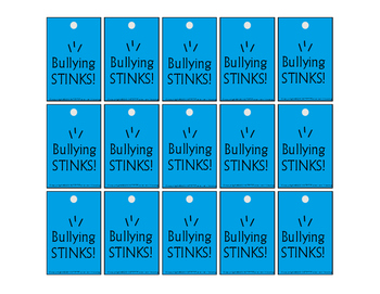 Anti- Bullying Bragging Tags!