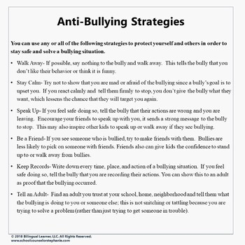 Anti-Bullying Bundle