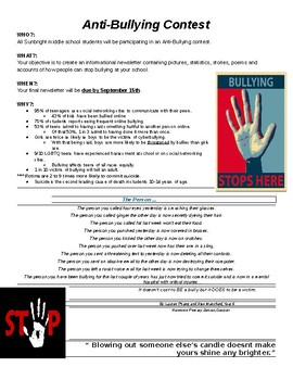 Anti-Bullying Class Project