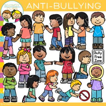 Anti Bullying Clip Art by Whimsy Clips | Teachers Pay Teachers