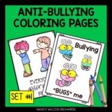 Anti-Bullying Coloring Pages, No Prep